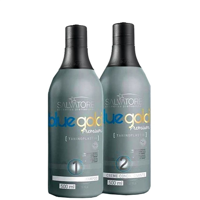 4794cc962 Kit Escova Progressiva Salvatore Blue Gold Premium (2x500ml)